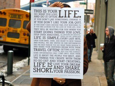 これはあなたの人生です。