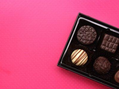 人生はチョコレートの箱だ。