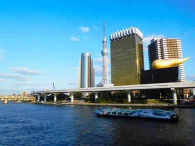 お江戸散歩~小一時間の隅田川クルーズ